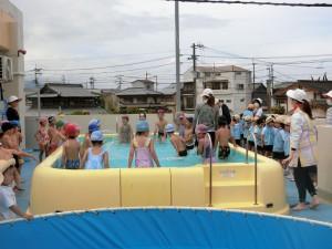 6月プール開き18