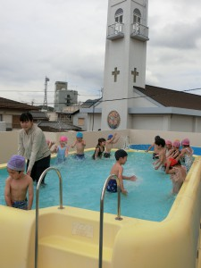 6月プール開き10