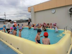 6月プール開き9